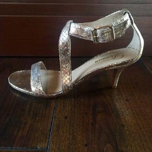 Delman Italian T-strap sandals